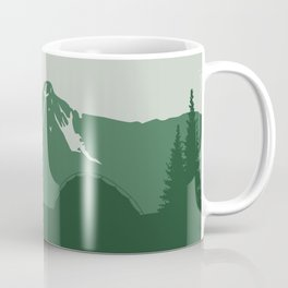 Camping Couple - Pine Coffee Mug