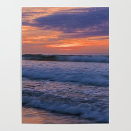 Painted clouds by nature Poster