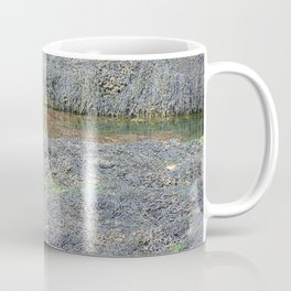 Boscastle harbour at low tide Coffee Mug
