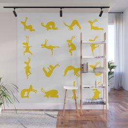 K's Yogi Bunnies Yellow Wall Mural
