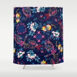Victorian Midnight Shower Curtain