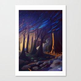 honey fall Canvas Print