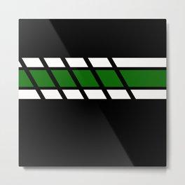 Team Colors 4...Green Metal Print