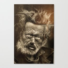 Tramp Canvas Print