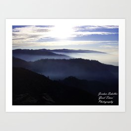 Magical Sunrise Art Print