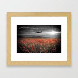 Halifax Bomber Boys Framed Art Print