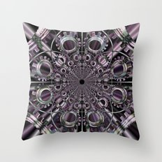 ENGRENAGES Throw Pillow