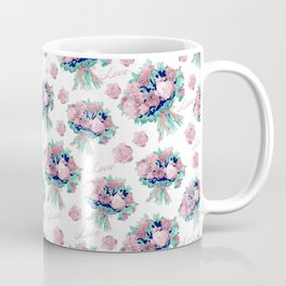 Romantic pink flowers Coffee Mug