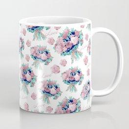 Romantic pink flowers Coffee Mug