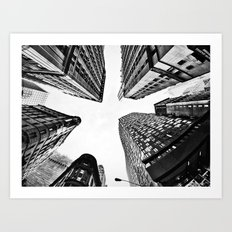 Subtle City Art Print