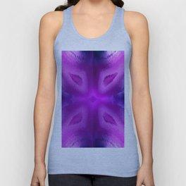 Agate Dreams in purple Unisex Tank Top