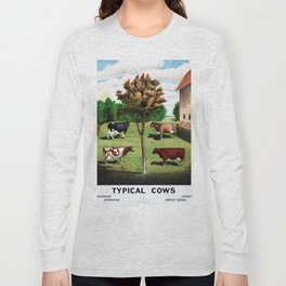 Typical Cows Long Sleeve T-shirt