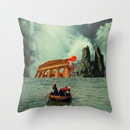 We Are All Fishermen Throw Pillow