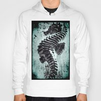 sea horse Hoodies featuring Sea Horse by Bella Blue Photography