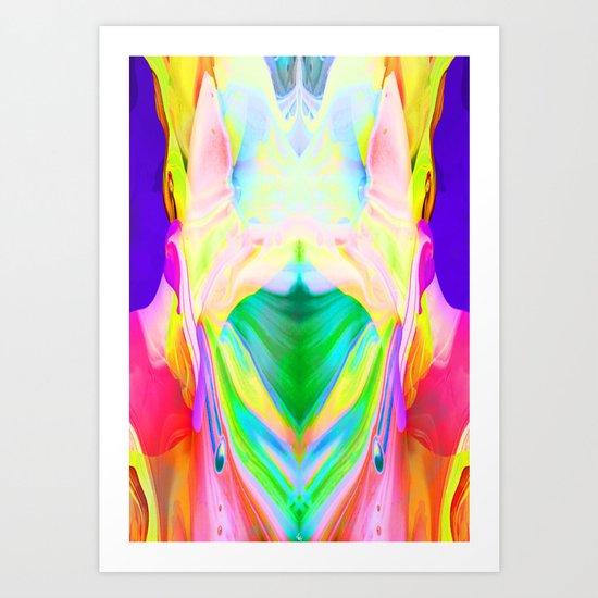 Rorschak Art Print