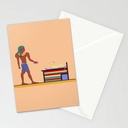Feeding The Pharaoh Stationery Cards