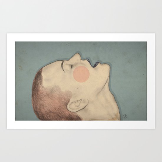 Beautiful Pain Art Print