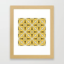 Any Which Way Framed Art Print