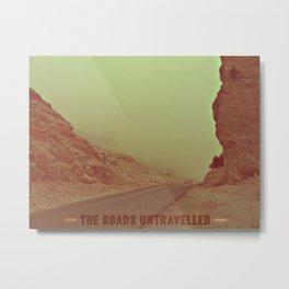 The Roads Untravelled Metal Print