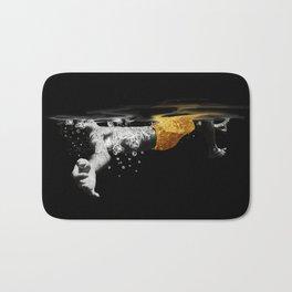 Black Water II Bath Mat
