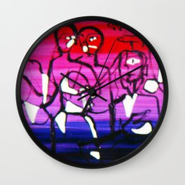 The Conference          by Kay Lipton Wall Clock