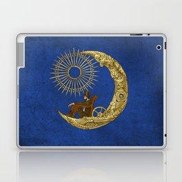 Moon Travel (Colour Option) Laptop & iPad Skin