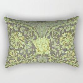 """William Morris """"Honeysuckle and tulip"""" 7. Rectangular Pillow"""