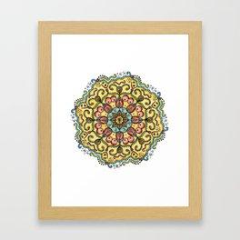 #MeToo Mandala Framed Art Print
