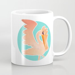 The fantastic hybrid: flamingo + stork Coffee Mug