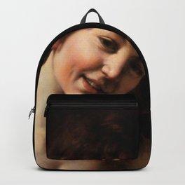 "Michelangelo Merisi da Caravaggio ""Amor Vincit Omnia"" (detail) Backpack"