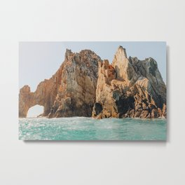 Arch of Cabo Metal Print