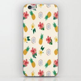 Tropical fruits iPhone Skin