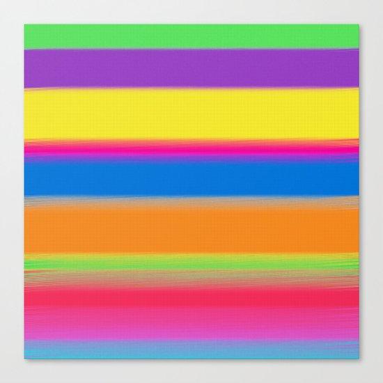 Candy Stripes. Canvas Print
