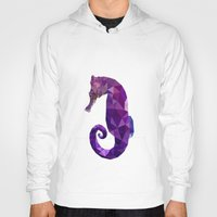 sea horse Hoodies featuring Sea horse by Julia Brnv