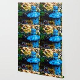 Japanese Painted Garden Wallpaper