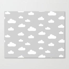 Nuvens Canvas Print