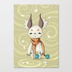 Fluffy Ears Canvas Print