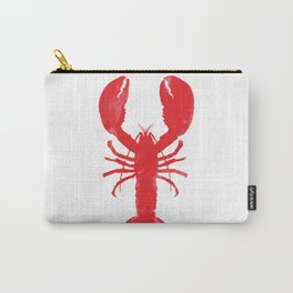 Watercolor Lobster Carry-All Pouch