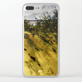 Vent de mer Clear iPhone Case