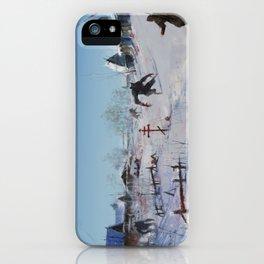 very severe winter... iPhone Case