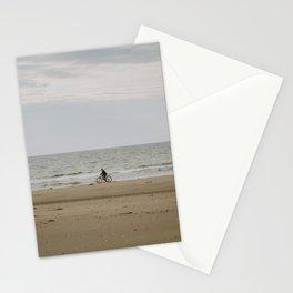 Biking Along the Shoreline Stationery Cards