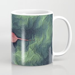 Flamingo In A Storm Coffee Mug