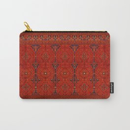 N194 - Red Berber Atlas Oriental Traditional Moroccan Style Carry-All Pouch
