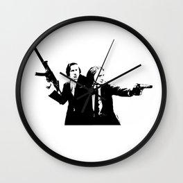 Chopin & Liszt - Gangsters Wall Clock
