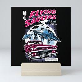 Flying Saucers Mini Art Print