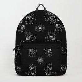 Silver Embossed Corners Backpack