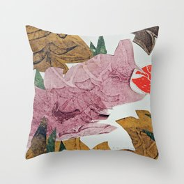 Touch of Tropics Throw Pillow
