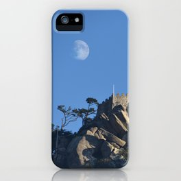 Magical Full Moon above the Castle of the Moors, Portugal iPhone Case
