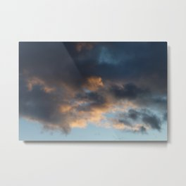 Dreamy Clouds Metal Print