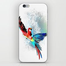 Macaw MISSING iPhone & iPod Skin